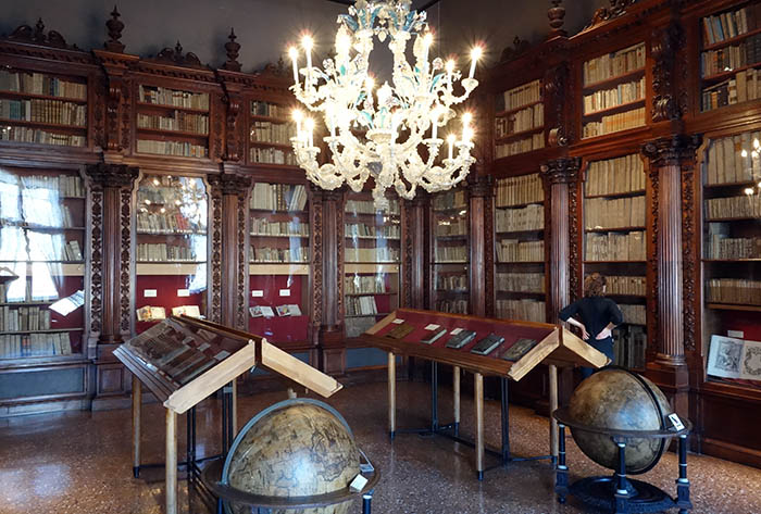 Library in the Correr Museum