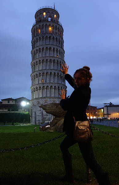 Obligatory leaning tower photo