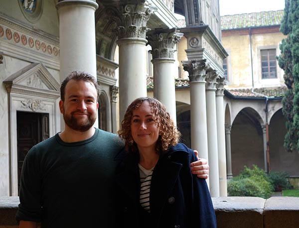 Santa Croce cloisters