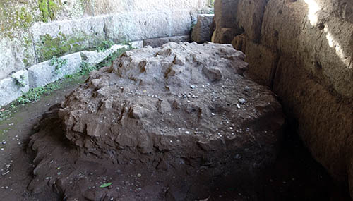 Julius Caesar's cremation site