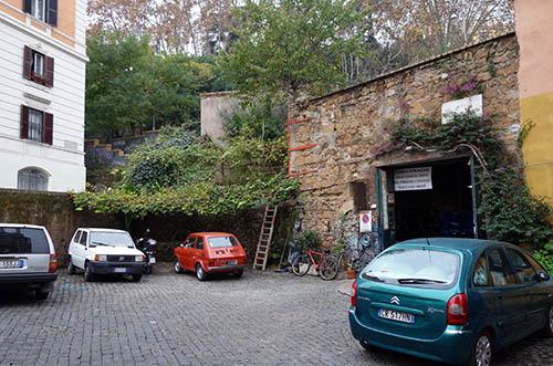 Trastevere garage