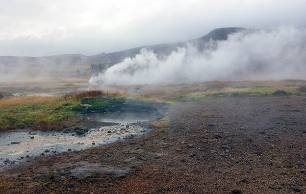 The eponymous Geysir