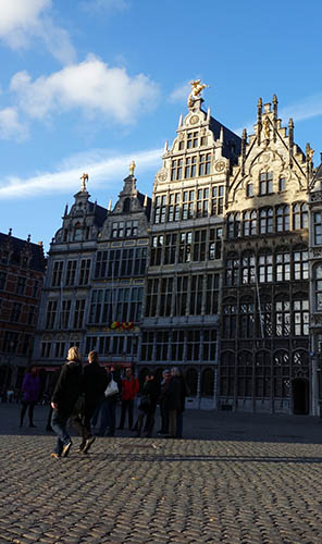 Grote Markt, the main city square.