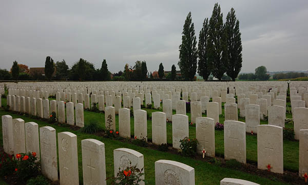 Tyne Cote cemetery