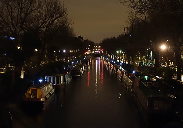 Little Venice in the murky weather