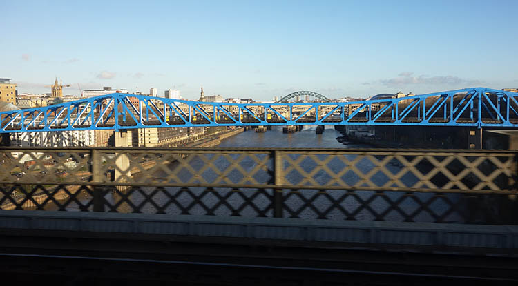 "Newcastle, ""City of Lots of Bridges"""