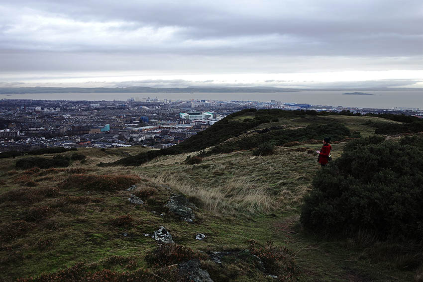 View over Edinburgh from Arthur's Seat