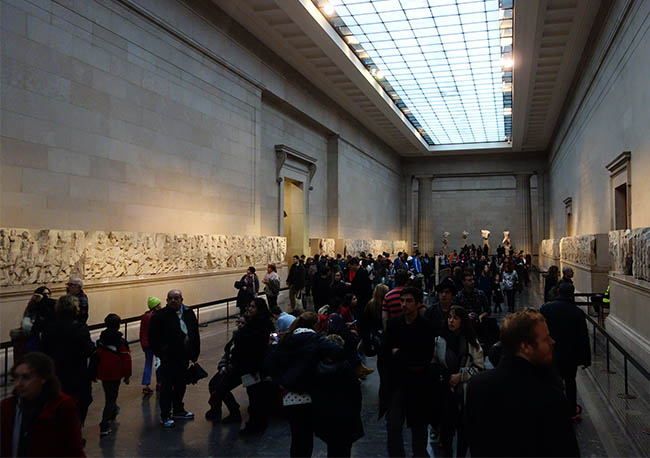 Elgin Marbles, crowds