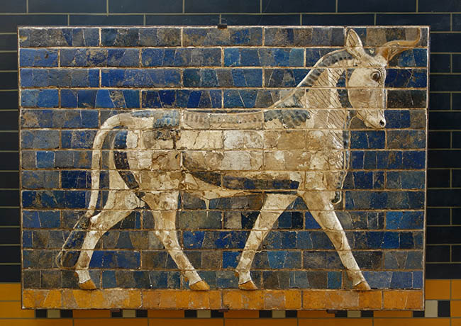 Procession near the Ishtar Gate